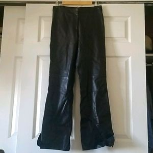 Cache Genuine Leather Pants